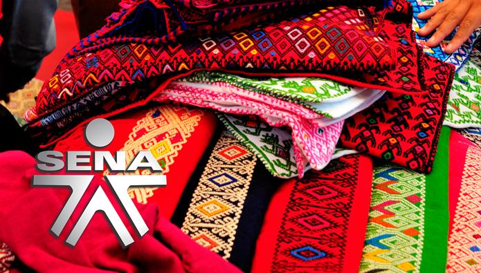 Curso SENA de Acabados para Piezas Textiles Artesanales